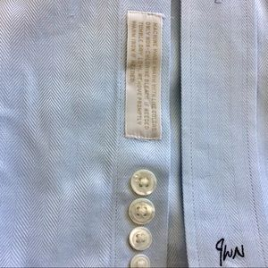John W. Nordstrom Shirts - Dress Shirt Blue by John W. Nordstrom Size 16.5 34